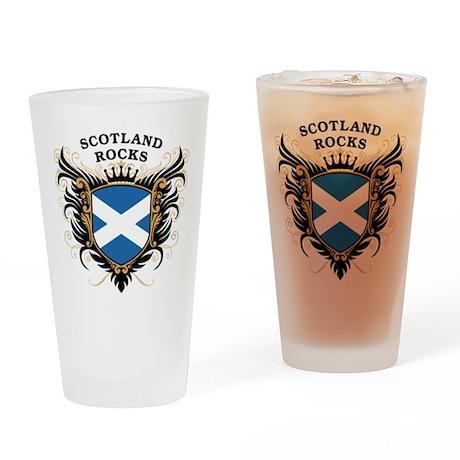 Scotland Rocks Pint Glass