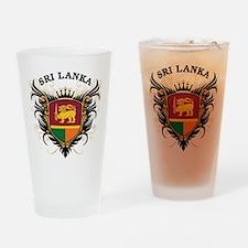Sri Lanka Drinking Glass