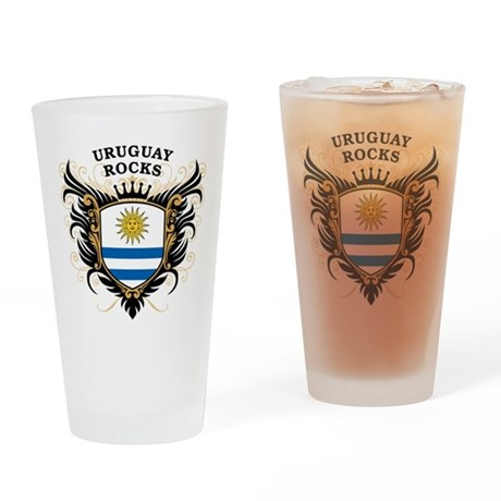 Uruguay Rocks Pint Glass