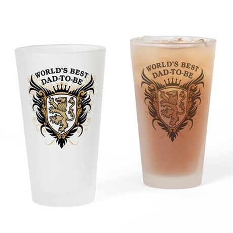 World's Best Dad-To-Be Pint Glass