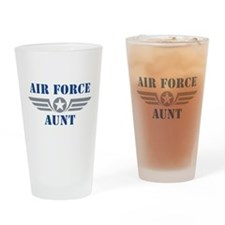 Air Force Aunt Pint Glass