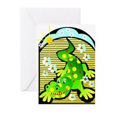 Psychodelic Gator Greeting Cards (Pk of 10)
