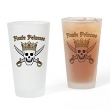Pirate Princess Pint Glass