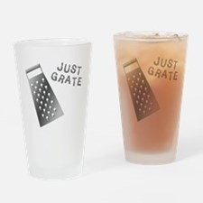 Just Grate Drinking Glass