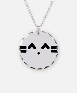 Kitty Cat Face Necklace