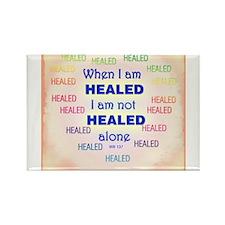 ACIM-I am not healed alone Rectangle Magnet
