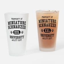 Property of Miniature Schnau Pint Glass