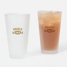 Beagle Dad Pint Glass