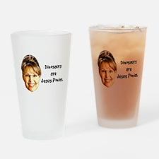 Jesus Ponies Pint Glass