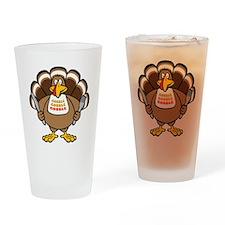 Gobble Turkey Pint Glass