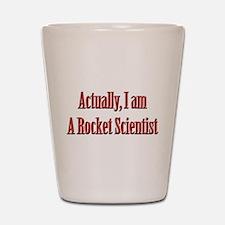 Rocket Scientist Shot Glass