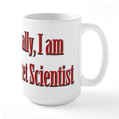 Rocket Scientist Large Mug