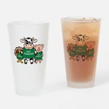 Eat Veggies Pint Glass