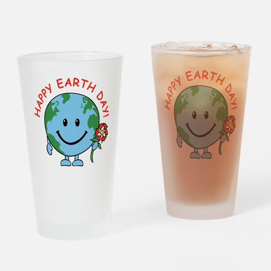 Earth Day Pint Glass