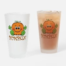 Pumpkin Pint Glass