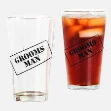 Groomsman Stamp Pint Glass