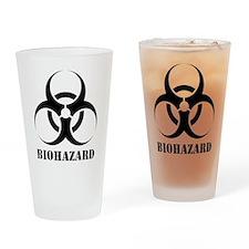 Biohazard Pint Glass