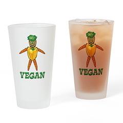 Funny Vegan Pint Glass