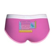 Table of Elements Women's Boy Brief