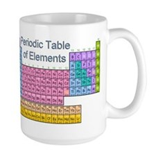 Table of Elements Ceramic Mugs