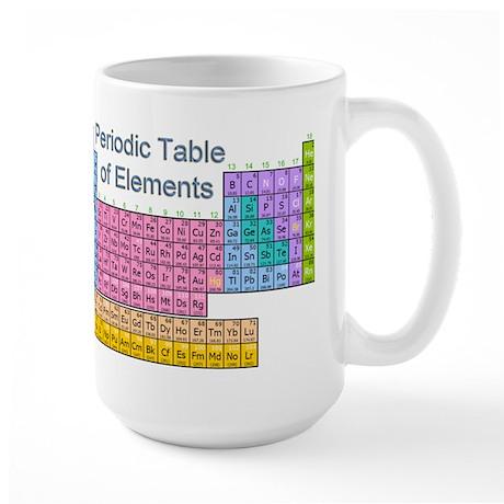 Table of Elements Large Mug