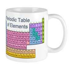 Table of Elements Small Mug