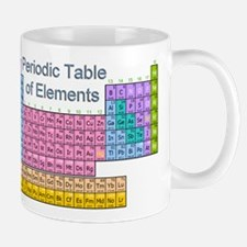 Table of Elements Small Mugs