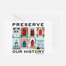 Churches preservation Greeting Card