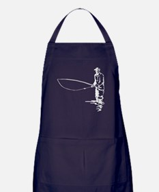 Gone Fishing Apron (dark)