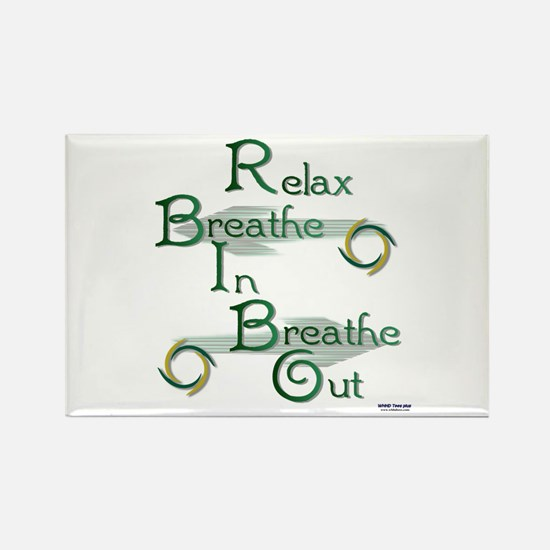 Relax Rectangle Magnet