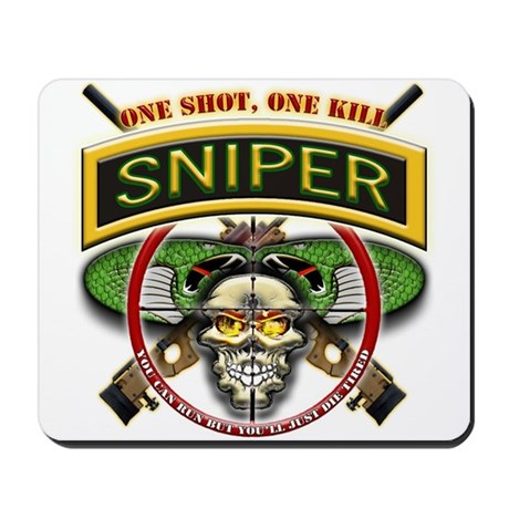 Sniper One Shot-One Kill Mousepad