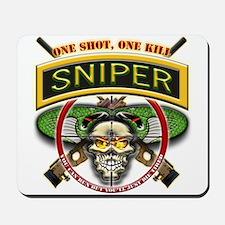 Sniper One Shot-One Kill Mousepad