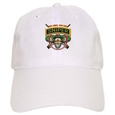 Sniper One Shot-One Kill Baseball Cap