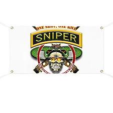 Sniper One Shot-One Kill Banner