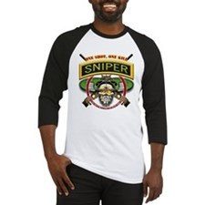 Sniper One Shot-One Kill Baseball Jersey