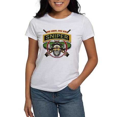 Sniper One Shot-One Kill Women's T-Shirt