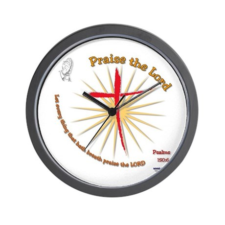 Praise the Lord Wall Clock