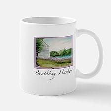 Boothbay Harbor Purple Spring Mug