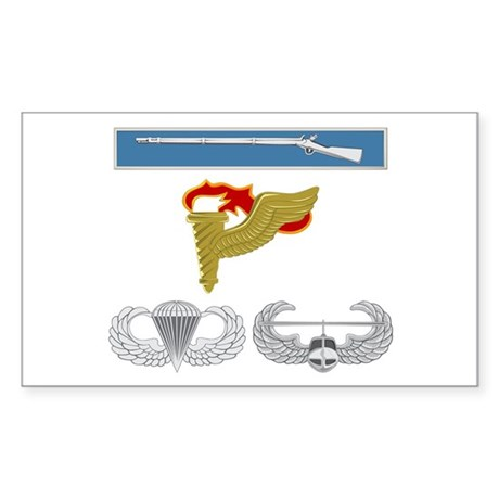 EIB Pathfinder Airborne Air As Sticker (Rectangle)