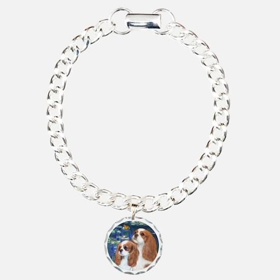 Lilies #5-Two Cavaliers (BL) Bracelet