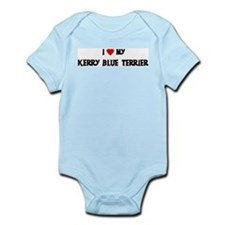 Kerry Blue Terrier Infant Creeper