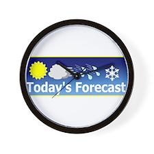 Mixed Forecast Wall Clock