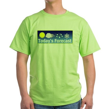 Mixed Forecast Green T-Shirt