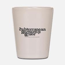 SHB/Bob Dylan Shot Glass