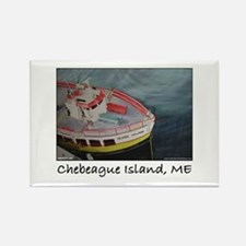 Chebeague Island Ferry Rectangle Magnet