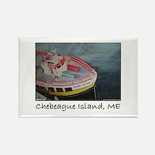 Chebeague Island Ferry Rectangle Magnet
