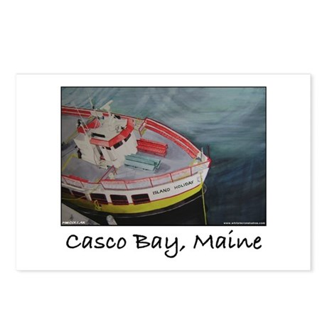 CASCO BAY LINES FERRY Postcards (Package of 8)