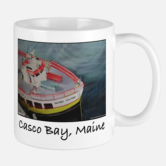 CASCO BAY LINES FERRY Mug