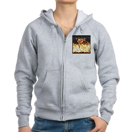Billy Joel Fire Women's Zip Hoodie