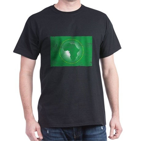 African Union Flag Dark T-Shirt